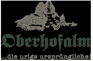 Oberhofalm Filzmoos Logo