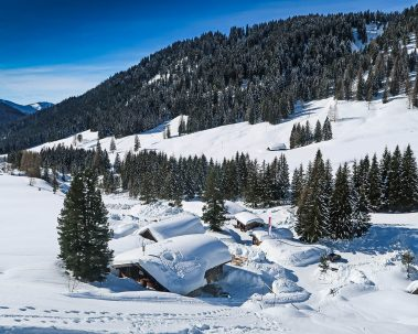 Oberhofalm im Winter - Ausflugsziel in Filzmoos, Salzburger Land